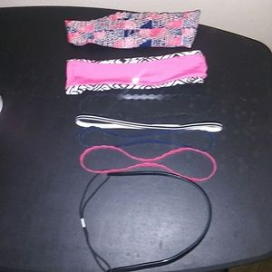 7/Scrunchie headbands, elastic and rubber bands